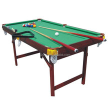 Cheap indoor light sport game tables billiard pool table