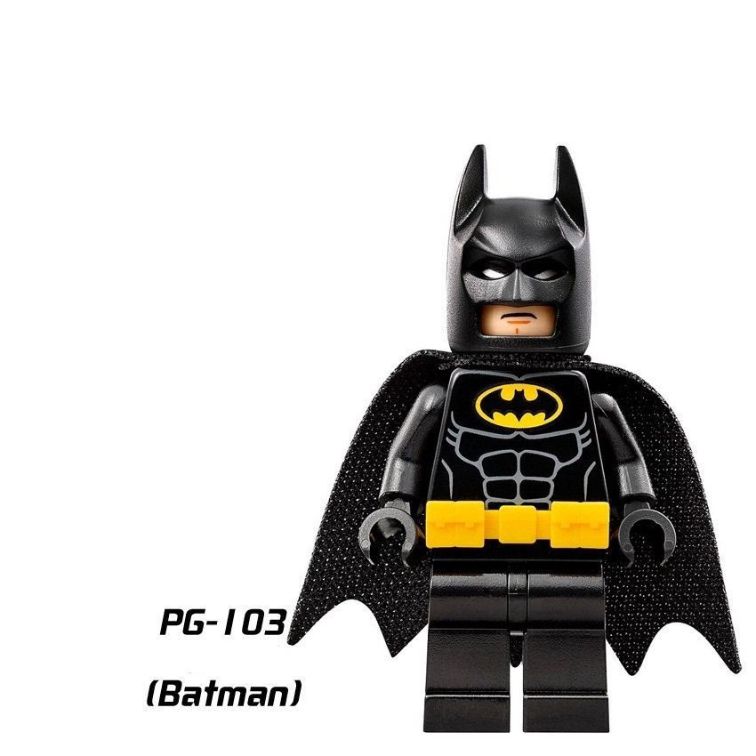 UKLego 16Pcs Batman Movie Mini Figures.