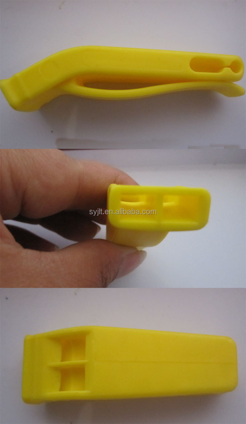 yellow flat whistle
