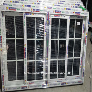 Plastic Frame Material Passive house windows and doors