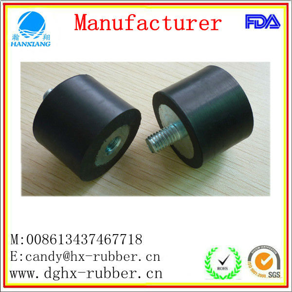 anti shock customize rubber cylinder