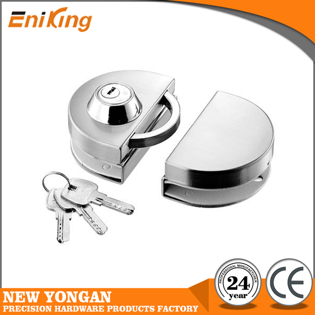 Double Side Open Commercial Sliding Glass Door Lock Ek 2101