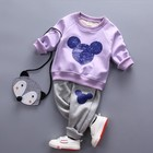 Autumn and Winter Cartoon Kids clothes Clothing Sets unisex