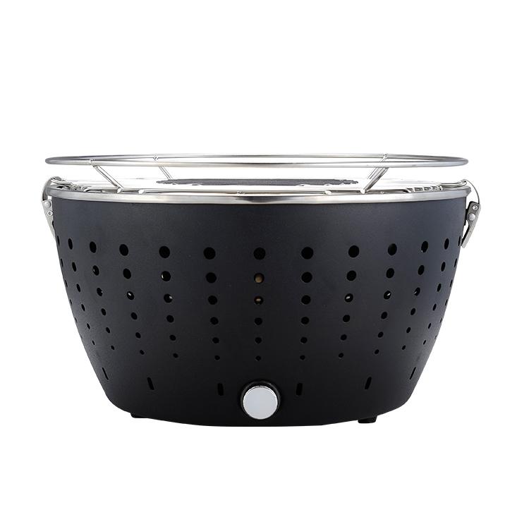 barbecue charbon grill ronde int rieur plat top hibachi. Black Bedroom Furniture Sets. Home Design Ideas