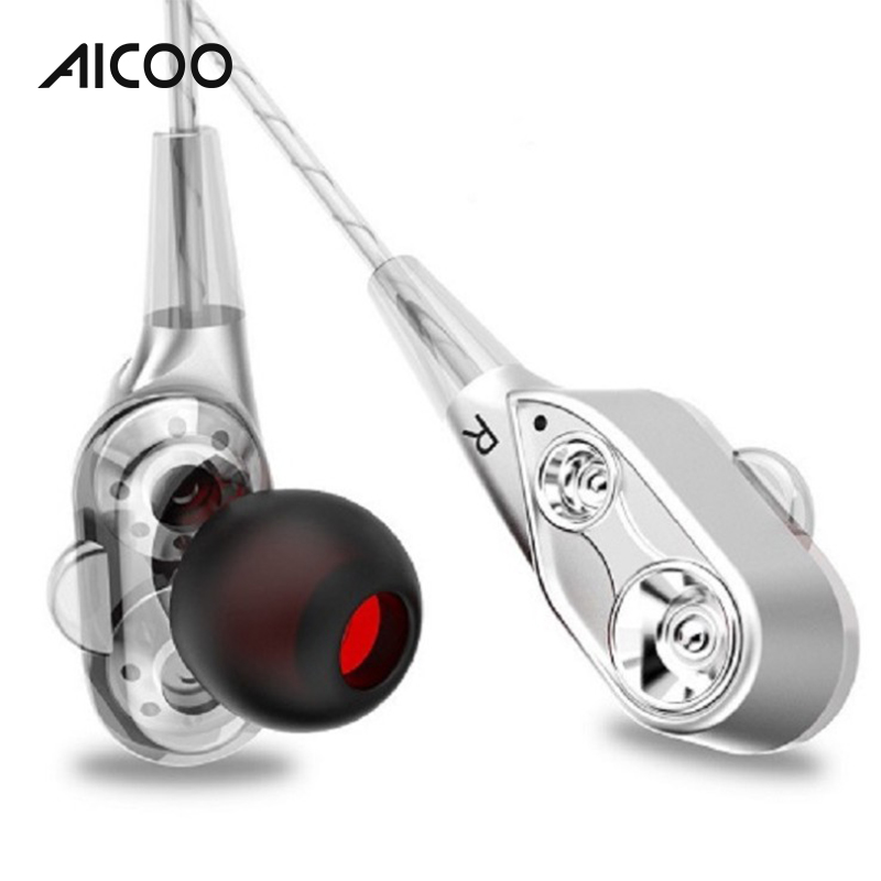 AICOO Custom Free <strong>Sample</strong> In Ear Mini Earpod 3.5mm Connectors Metal Headphones Earbuds Wired Sport Earphone for Samsung