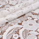 "47"" Ivory Renda Guipir Chemical Embroidered Lace Fabric for Dressmaking Craft Textile Fabric"