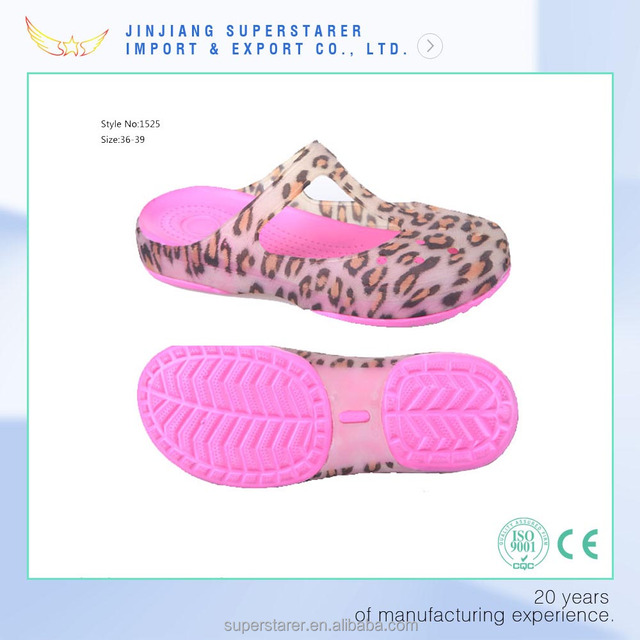 China womens jelly sandals. products below. funky woman sandal, latest women  jelly sandal with leopard print