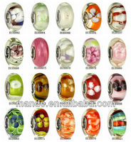 new products handmade lampwork glass beads european beads made in China on alibaba russian