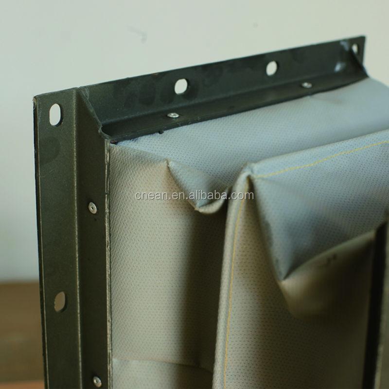 צינור חיבור גמיש מלבן או עגול רך עם מקורבות פלדה מערכות