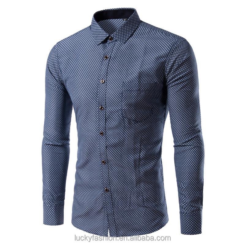 China Custom Design Pattern Men Shirt, China Custom Design Pattern ...