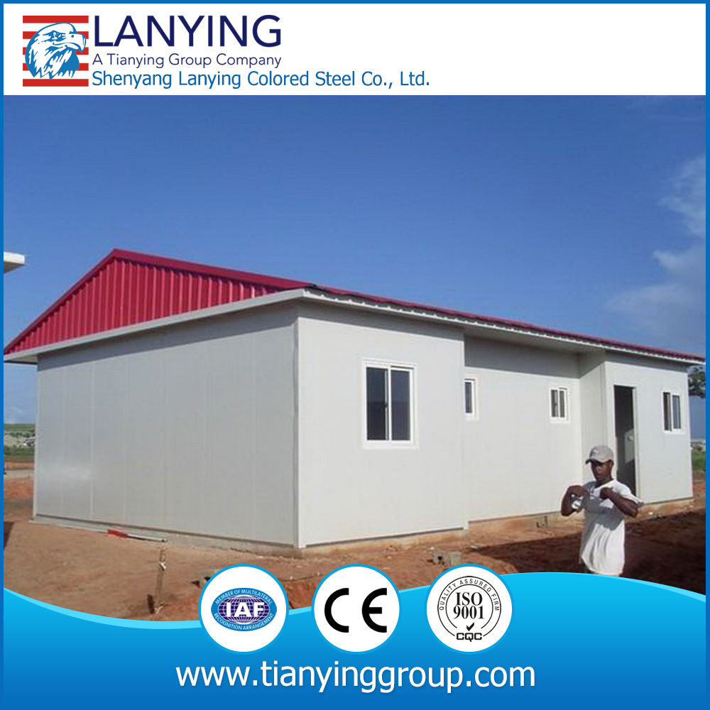 Light steel frame factory/ prefabricated prefab modular portable house