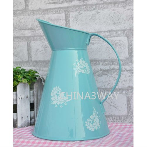 home garden flower holder indoor colored cone flower holder