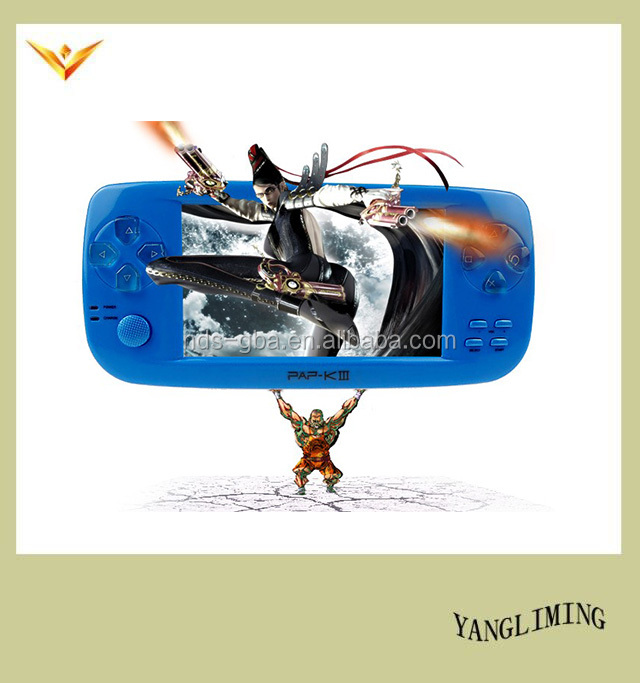 4.3 inch 128 bit 3D game free download game for MP5 player game console PAP-K3