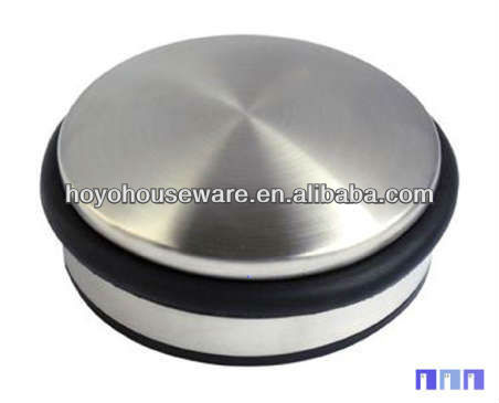 round and flat heavy door stopper