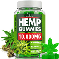 100% Natural & Safe Pain Relief Hemp CBD Gummies Premium Herbal Extract Pain, Stress & Anxiety Relief