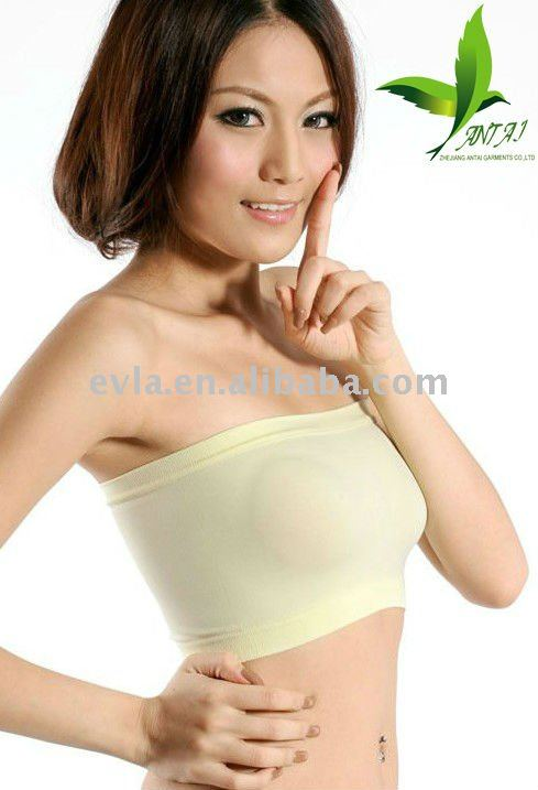 Fashion Girl Seamless Invisible Bra,Strapless Bra - Buy Seamless ...
