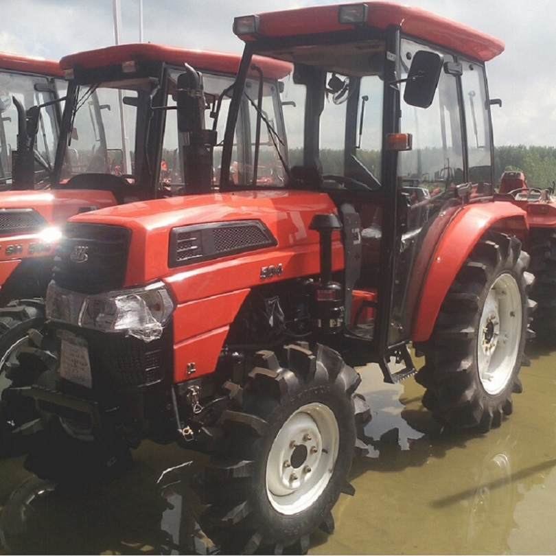 Sell well in the global 50hp 4WD Agricultural Wheel Tractor