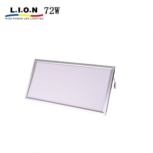 High power bis standard dimmable 600x1200 led panel light 1200x600