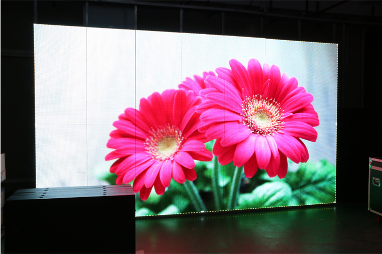 High brightness SMD full color p6 indoor led display screen price in india