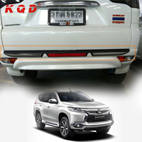 rear bumper plate accessories for 2015 2016 Pajero Sport / Montero Sport
