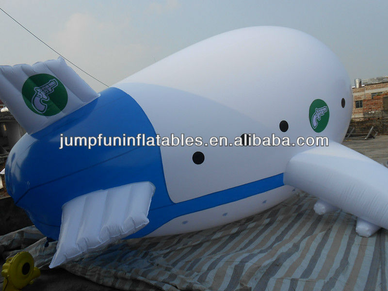 helium airplane advertising inflatables helium aircraft