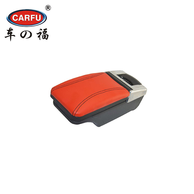 Foshan car decoration accessories interior shops auto universal seat armrest ac 485 console box