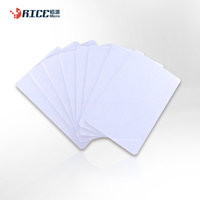 RFID dual frequency pvc plastic blank smart card