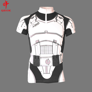 wholesale white cycling jersey ,bicycle clothing custom