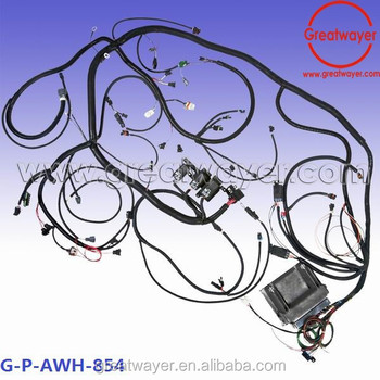 firebird camaro  engine computer wiring harness