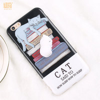 Mobile accessories hot sell 3D printed cartoon Mobile phone cases for iphone
