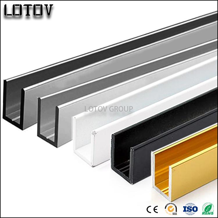 White Anodized Aluminum U Channel C Channel - Buy U Channel,Aluminum C  Channel Product on Alibaba com
