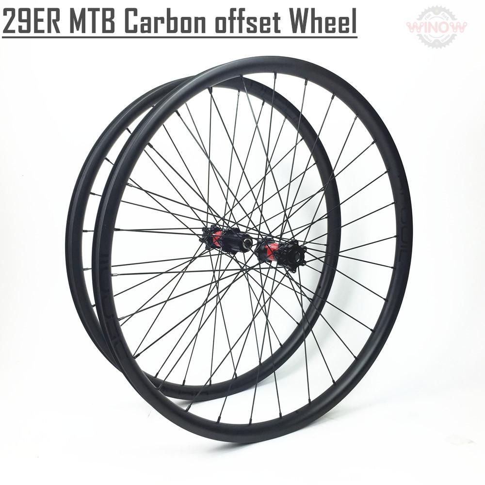 2017 Light Weight 29er Carbon Fiber Mtb Bike Wheelset 345g Mtb Rim