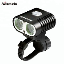 Nitemate fiets licht XM-L T6 2000Lm LED Zoomable 5-Mode mini Torch 18650 batterij