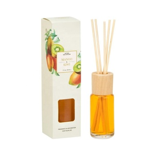 30ml All Scent Water Based Liquid Air Freshener Type Reed Diffuser With Wood Cap