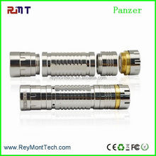 fashionable design with superb material ecig panzer mod 26650 black hawk panzer mod