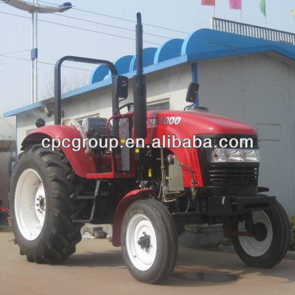 new brand 100hp 4wd wheel tractor