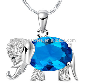 Unique sliver pendant,Elephant shape pendants