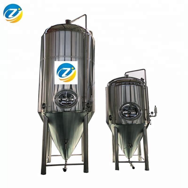 Dual 존 딤플 cooling 물 외피 맥주 발효 발효기 조 (