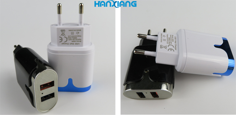 2in 1DC AC 어댑터 12 볼트 2a 벽 충전기 5 볼트 2.4A 12 와트 출력 USB 벽 충전기