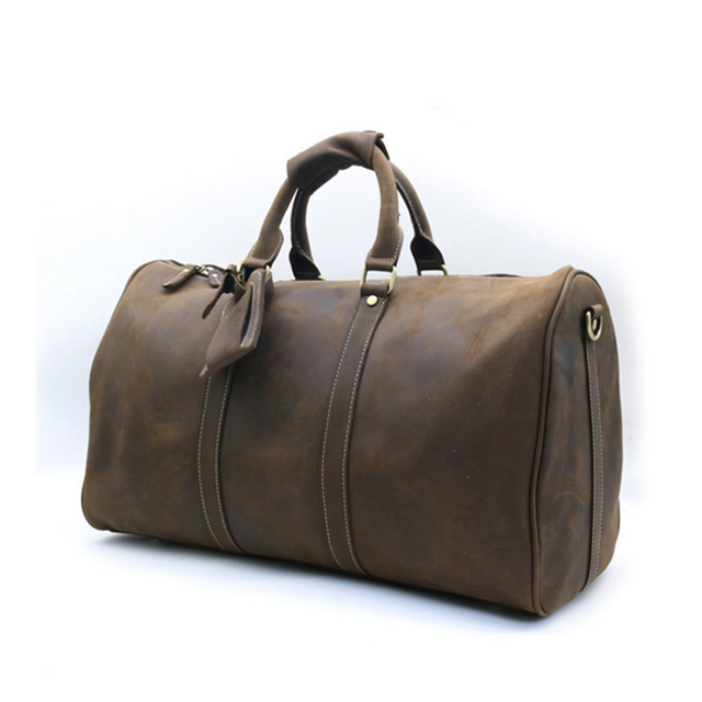 China Leather Travel Bags Men Bags Manufacturer Retro Leather Bags for Men