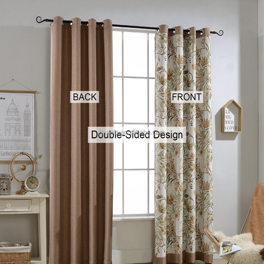 cortinas para la sala de estar de doble cara uso apagn cortinas para nios
