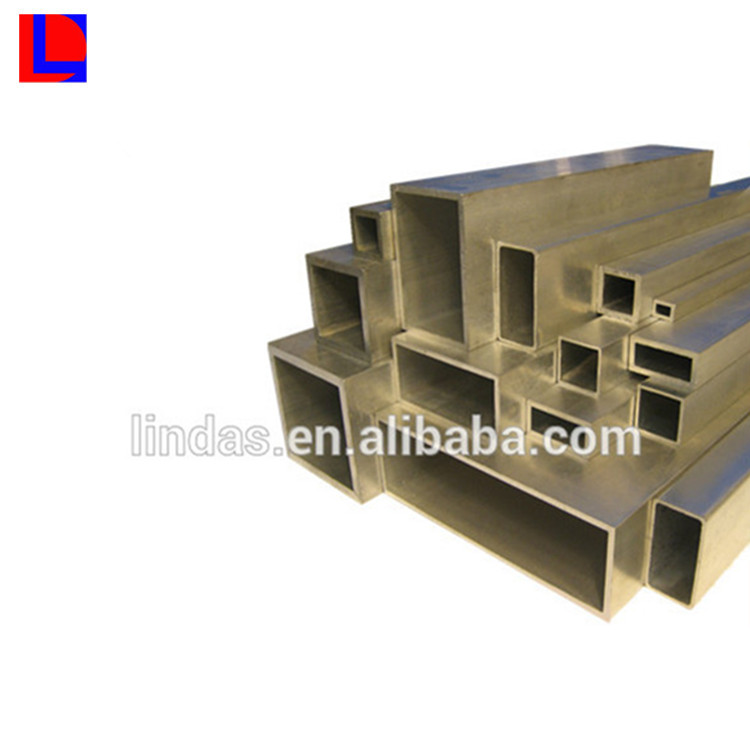Standard size or custom size Anodized extrusion 6061 aluminum square