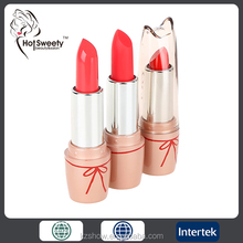 fashion color longlasting lips beauty makeup lipstick natural waterproof lipstick cosmetics
