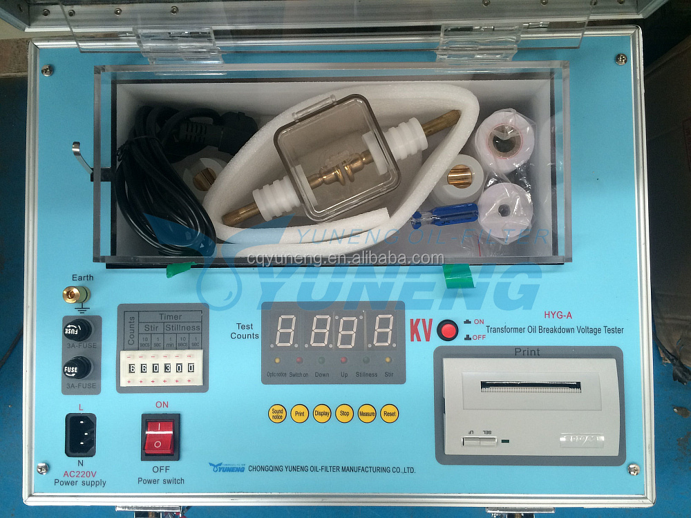 Transformer Oil Test Kit Used in The Transformers for Cooling as Well as for Insulation Purposes