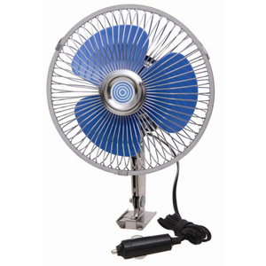 6 inch full seal car fan oscillating 3 blade car fan
