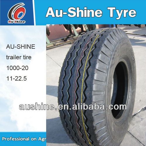 10.00-20 11-22.5 8-14.5 Nylon Trailer Tires
