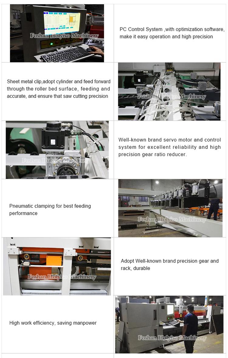 Heavy Duty Automatic CNC Wood Panel Beam Cutting Machine