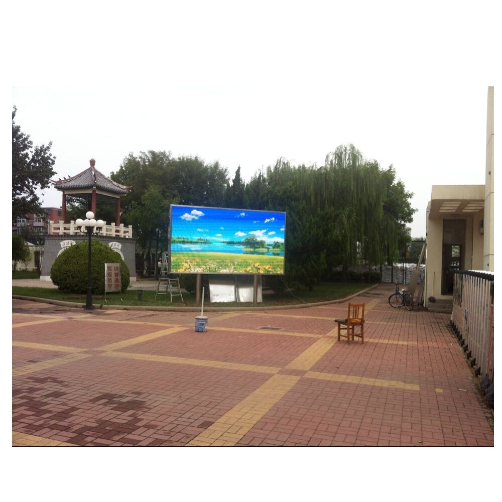 2018 New Outdoor 광고 p10 LED Video Display