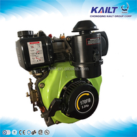 4/6/9/10/12hp Small Single Cylinder 4 Stroke Air-cooled Diesel Engine for Sale
