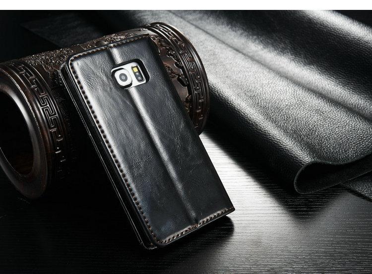 galaxy s6 leather flip case